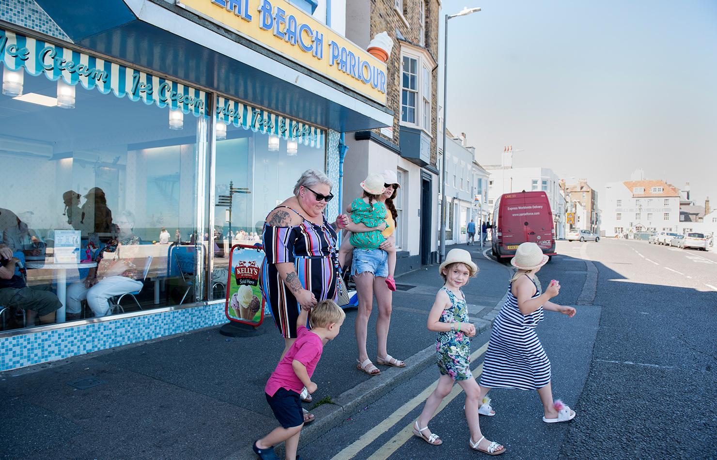 UK deal ice cream parlour documentary photography