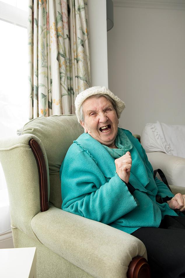 Elderly advertising photography