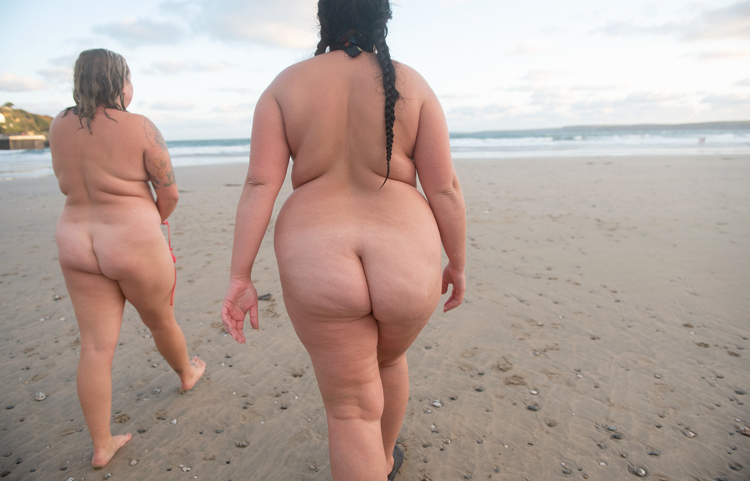 UK Cornwall Swimming Reportage
